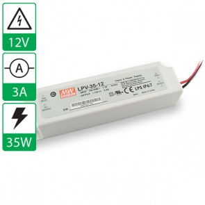 12V 3A 35W Mean well voeding LPV-35-12