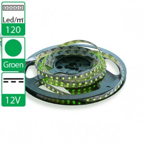 1m 120 Leds 12V SMD flexibele LED strip groen