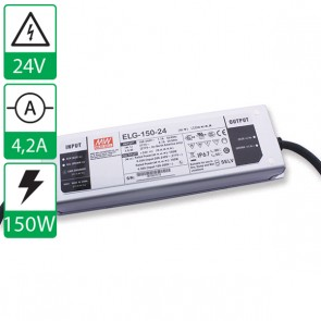24V 4,38A 150W Mean well voeding ELG-150-24