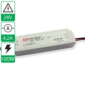 24V 4,2A 100W Mean well voeding LPV-100-24