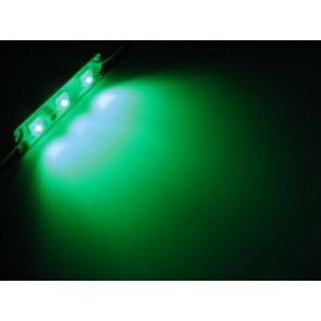 Waterdichte groene LED strip 6,7 cm 12 V 3 Hyperflux LED