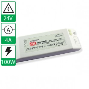 24V 4A 100W Mean well voeding PLC-100-24