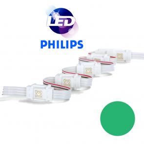 PHILIPS Groene waterdichte LED module met 1 power LED LP W8000