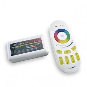 MI-Light 4 zone RGBW-controller incl. afstandsbediening
